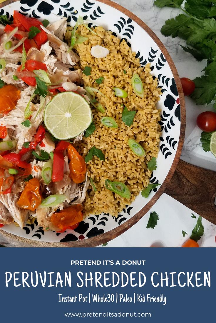 Peruvian Shredded Chicken